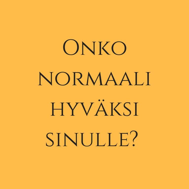 Normaalia