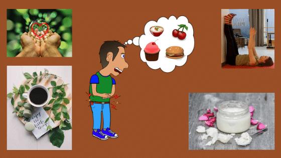 Suolisto käsittelee ajatuksia ja ruokaa