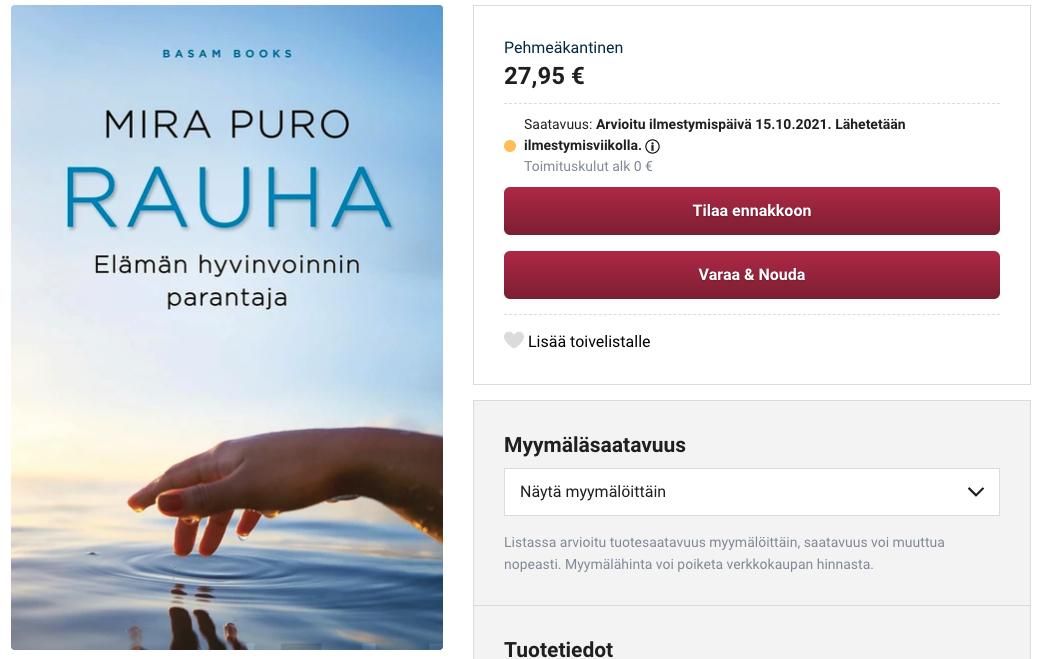 Read more about the article Mitä Rauha antaa